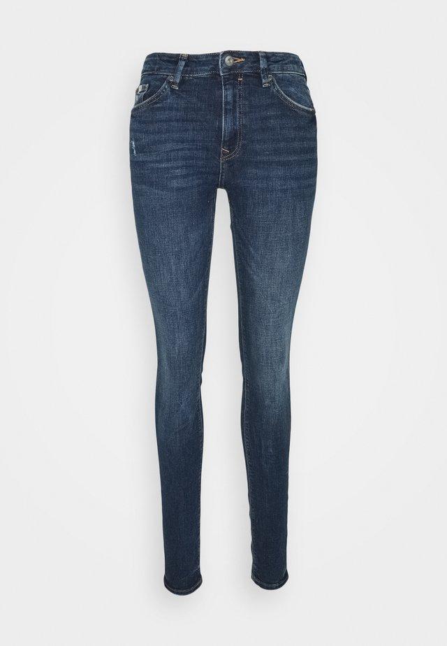 Jeansy Skinny Fit - light-blue denim
