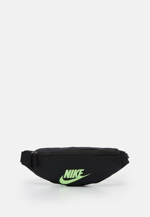 HERITAGE UNISEX - Bum bag - black/lime blast