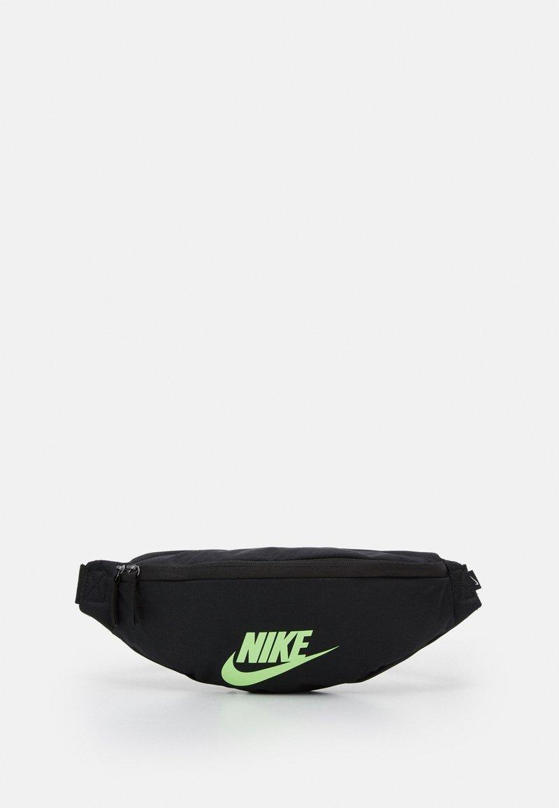 Nike Sportswear - HERITAGE UNISEX - Bæltetasker - black/lime blast