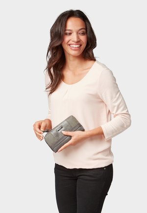 JUNA - Wallet - grey