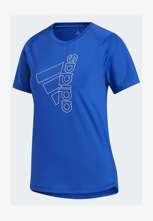 BADGE OF SPORT T-SHIRT - T-shirt med print - blue