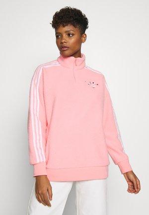 SPORT INSPIRED POLARFLEECE HALF ZIP - Fleece jumper - glory pink