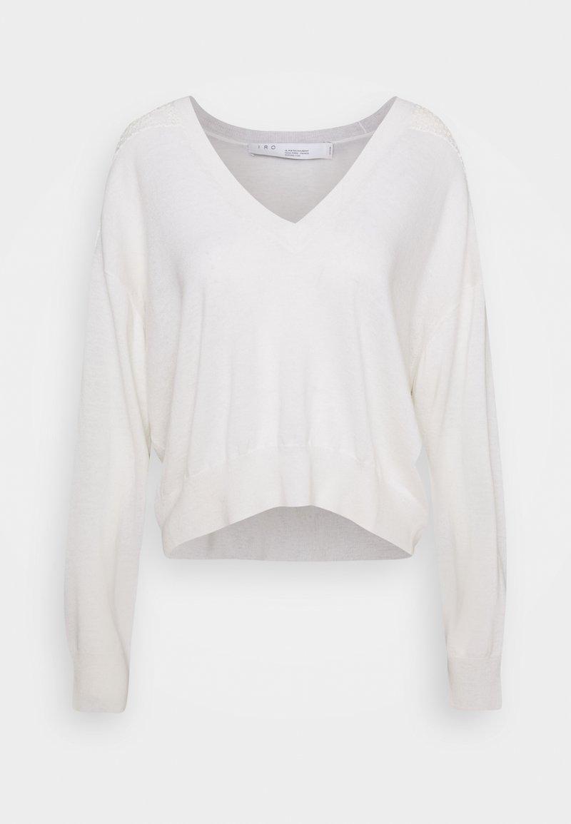 Iro - NABAS - Strikkegenser - off white