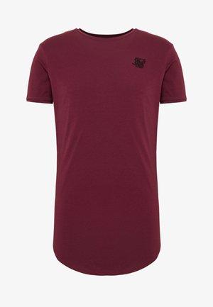 Camiseta básica - burgundy