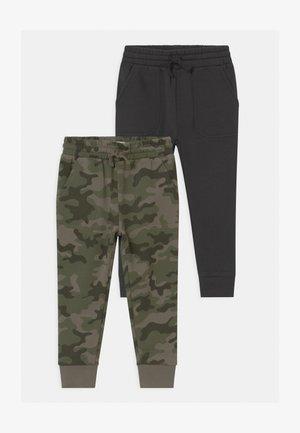 HERITAGE 2 PACK - Pantaloni sportivi - anthracite/khaki
