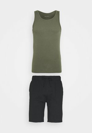 Pyjamas - khaki/black