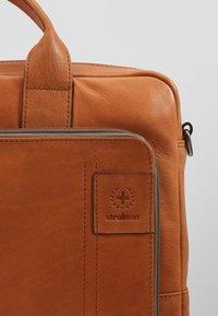 Strellson - HYDE PARK BRIEFBAG - Briefcase - cognac - 5