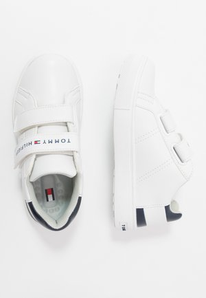 Sneakers laag - white/blue/red