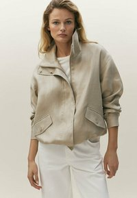 Massimo Dutti - Light jacket - beige - 0