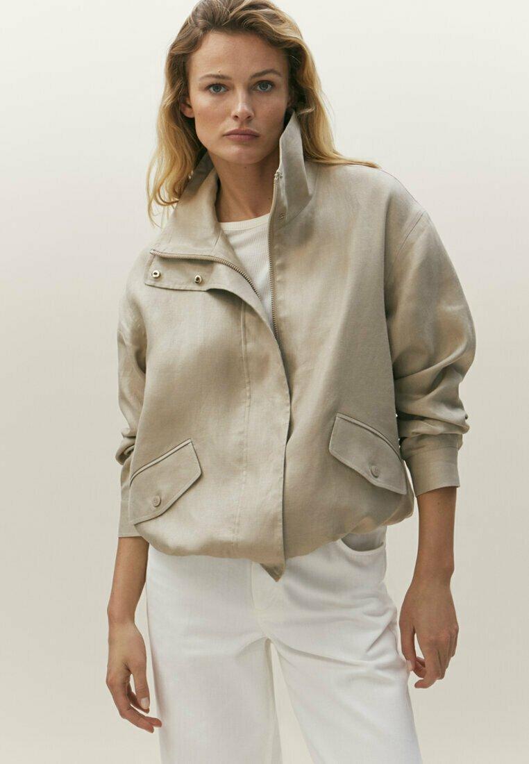 Massimo Dutti - Light jacket - beige