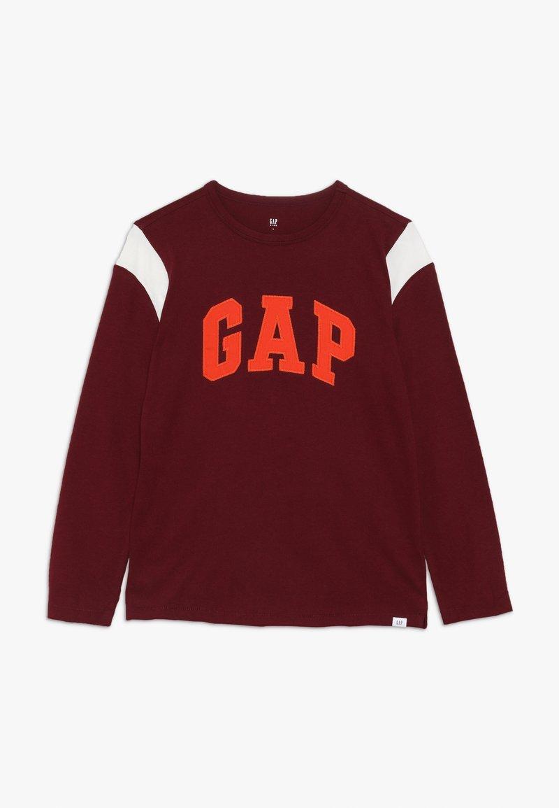 GAP - BOY LOGO TEE - Bluzka z długim rękawem - red delicious