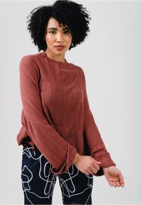 Solai - Jumper - clay red - 3