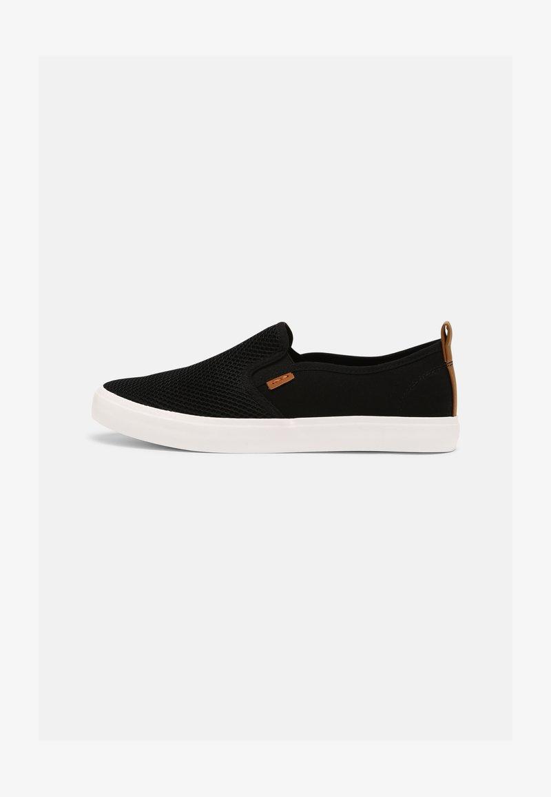 Pier One - UNISEX - Sneakers basse - black