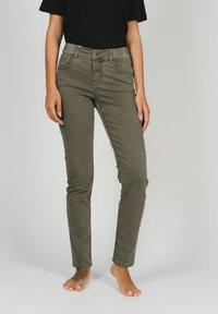 Angels - Slim fit jeans - khaki - 0