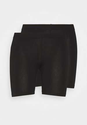 VMMAXI BIKER 2PACK - Shorts - black