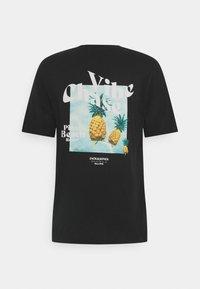 Jack & Jones - T-shirt med print - black - 1