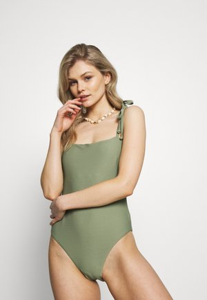 ESSENTIALS CAPSULE ONE PIECE OPTION - Plavky - khaki