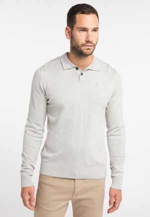 Jumper - light gray melange