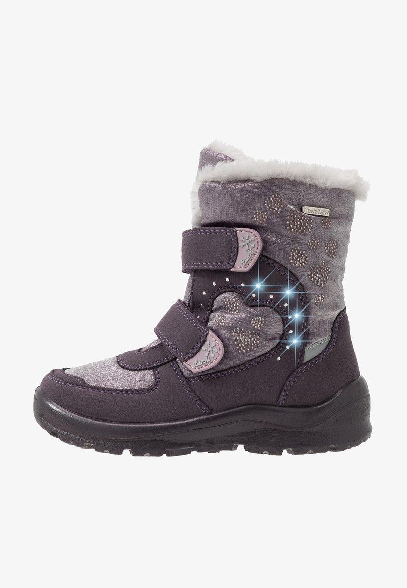 Lurchi - KIMMI-SYMPATEX - Winter boots - aubergine