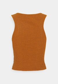 BDG Urban Outfitters - HIGH TANK - Toppi - mink brown - 1