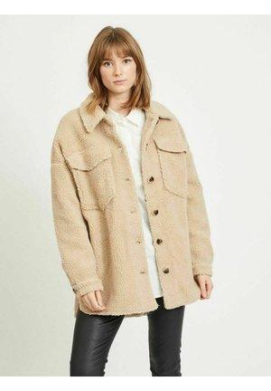 Fleece jacket - tigers eye