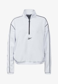 WORKOUT READY 1/4 ZIP SWEATSHIRT - Sweatshirt - white