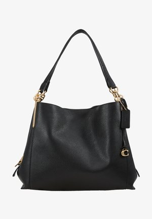 DALTON SHOULDER BAG - Bolso de mano - gold/black