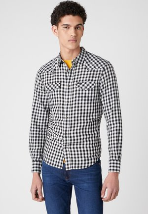 LS WESTERN - Shirt - offwhite