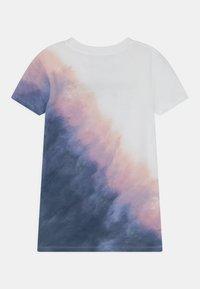 Abercrombie & Fitch - KNOT FRONT TECH CORE  - Print T-shirt - purple - 1