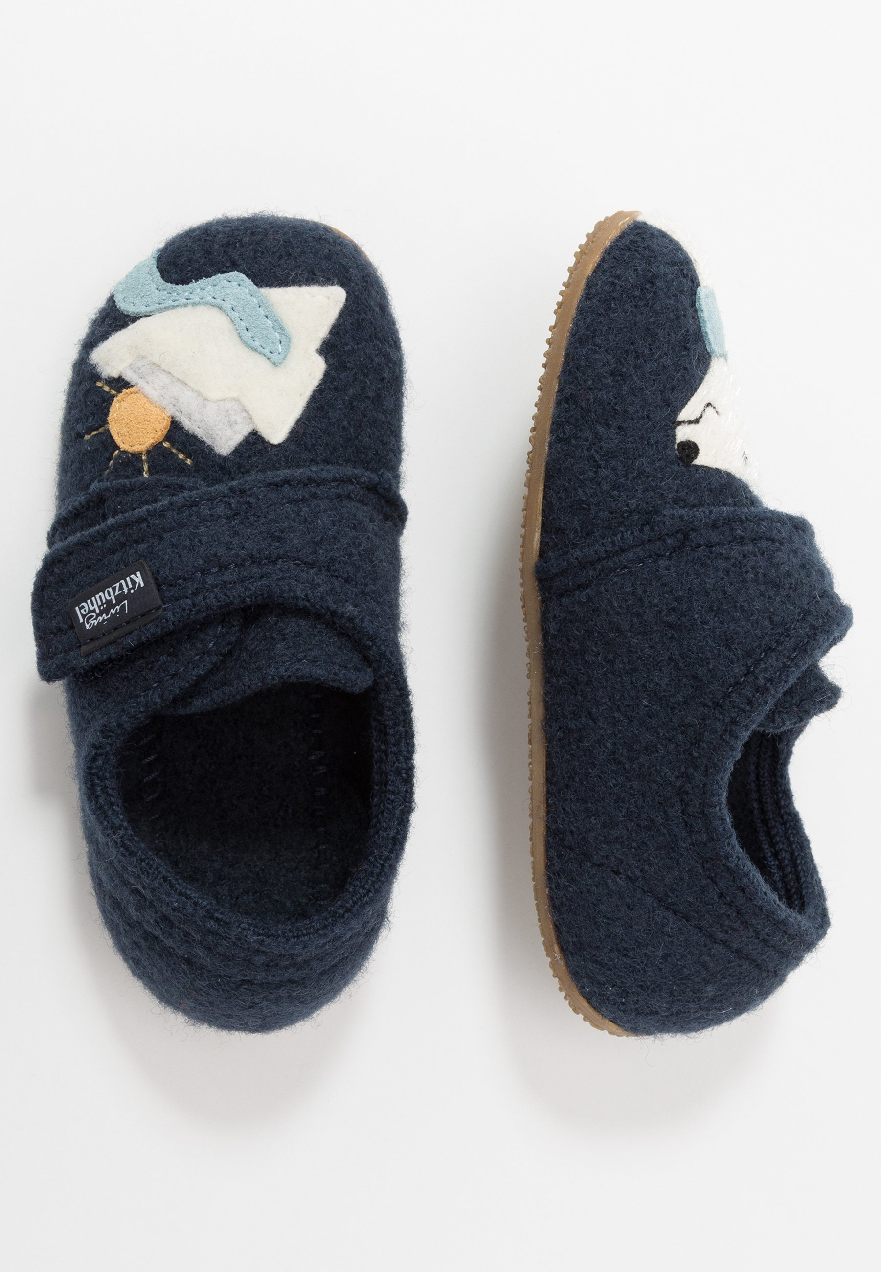 Wholesale Quality Cheapest Living Kitzbühel KLETTMODELL MIT EISBÄR UND EISBERG - Slippers - nightshadow | kids shoes 2020 lzOob