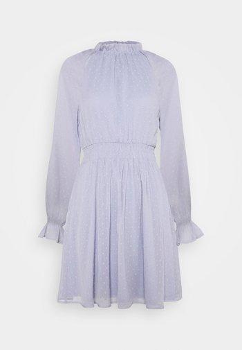 DRESS - Day dress - dusty blue