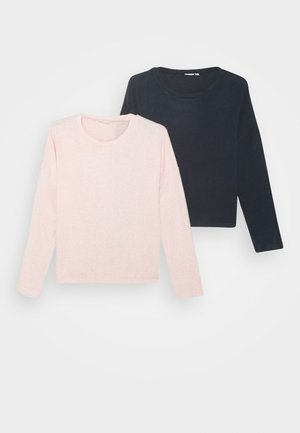 NKFVICTI 2 PACK - Jumper - coral blush/dark