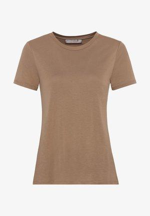 Basic T-shirt - camel