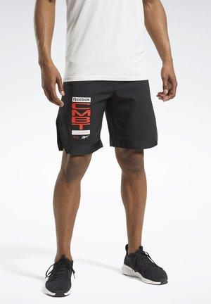 COMBAT MMA SHORTS - Korte sportsbukser - black