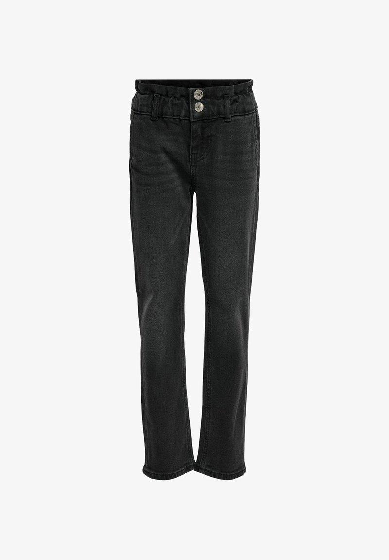 Kids ONLY - Straight leg jeans - black denim
