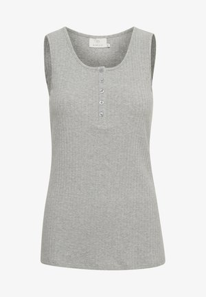 Top - grey melange