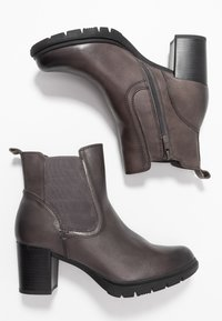 Be Natural - BOOTS - Botines - graphite - 3