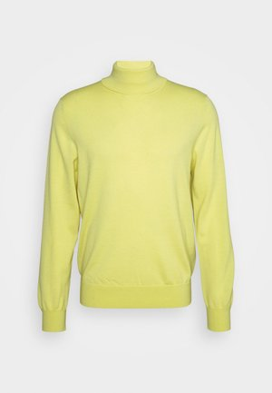 TURTLENECK - Sweter - jaune citron