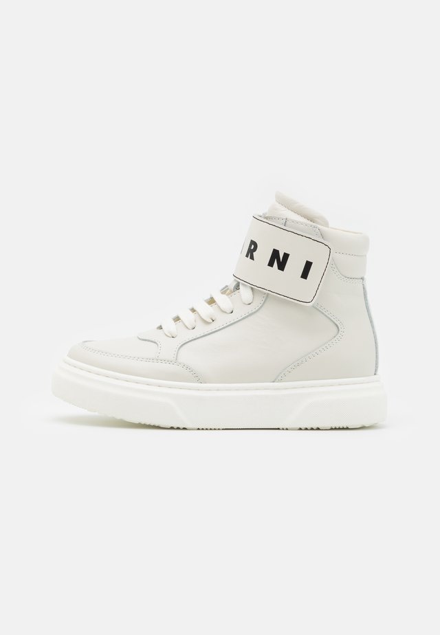 Zapatillas altas - offwhite