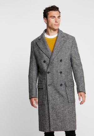 EXCLUSIVE HERRINGBONE CROMBY - Płaszcz wełniany /Płaszcz klasyczny - grey
