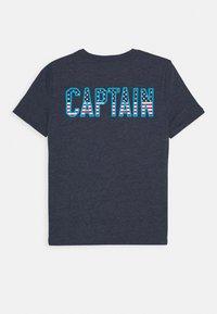 GAP - BOY - T-shirt print - navy heather - 1
