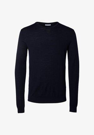 SLHTOWER - Trui - navy blazer