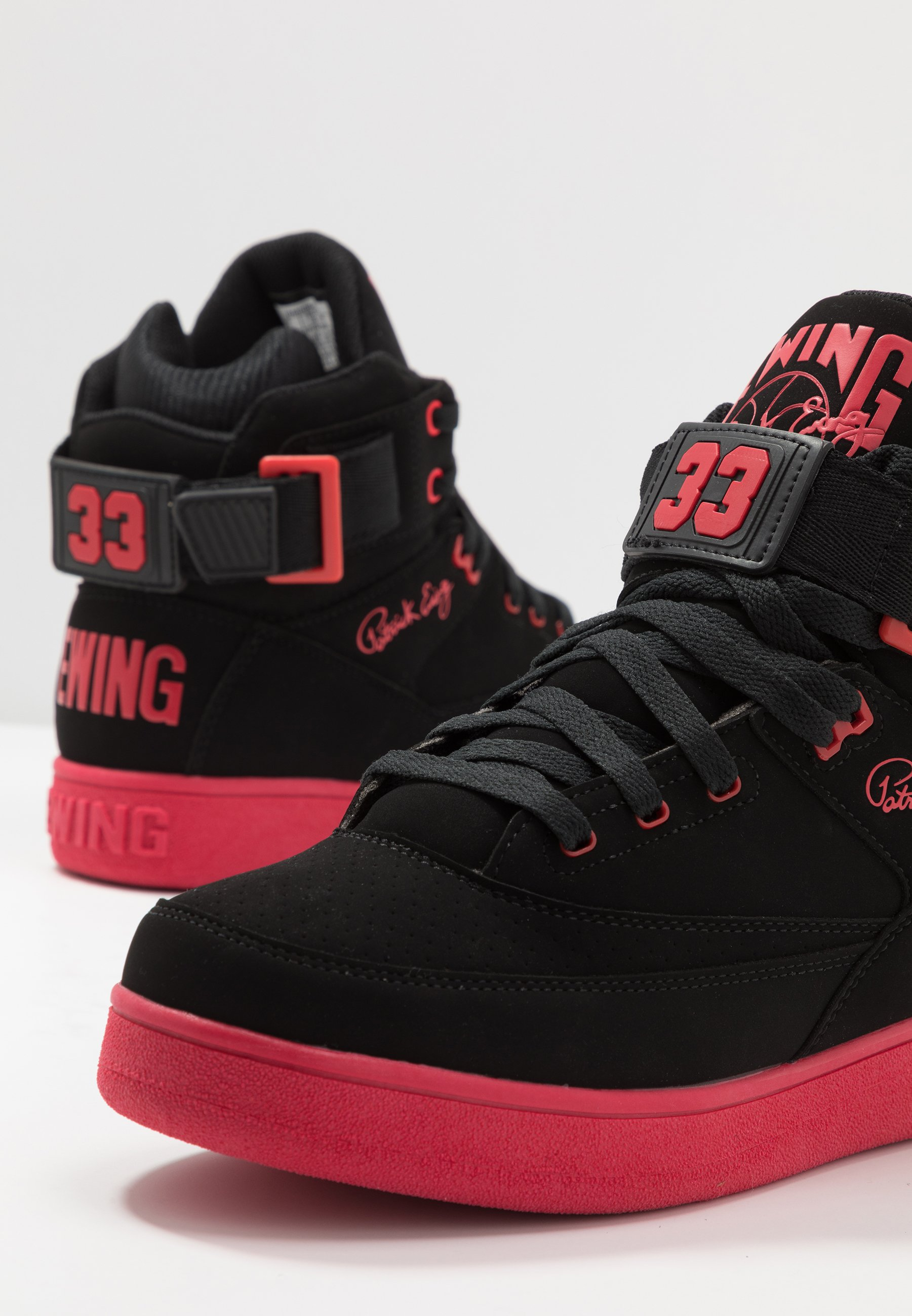 Ewing 33 HI BASKETBALL Skatesko black chinese red