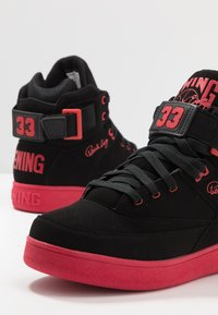 Ewing - 33 HI BASKETBALL - Skate shoes - black /chinese red - 5
