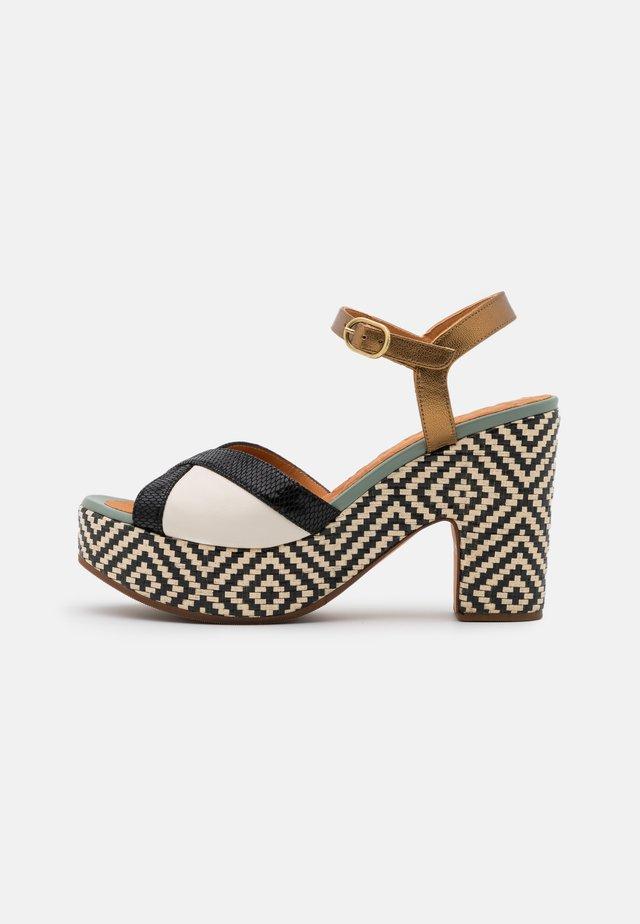YA JUSLA - Korkeakorkoiset sandaalit - ada/freya rice/dali bronce/freya frango