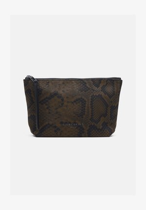 BETTY SNAKE COSMETIC POUCH S - Wash bag - pecan