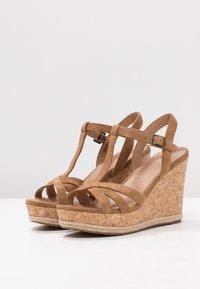 UGG - MELISSA - Sandalen met hoge hak - chestnut - 4