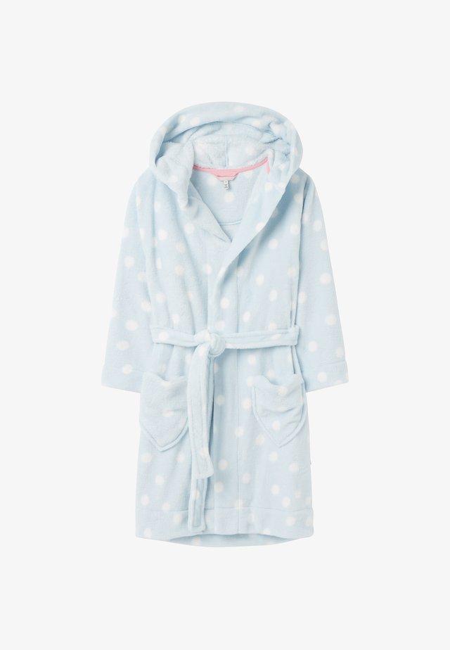 Dressing gown - blaue tupfen