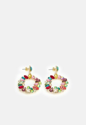 ONLDEMY STONE EARRING - Øredobber - gold-coloured/multi colour