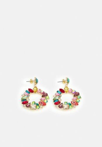 ONLDEMY STONE EARRING - Earrings - gold-coloured/multi colour